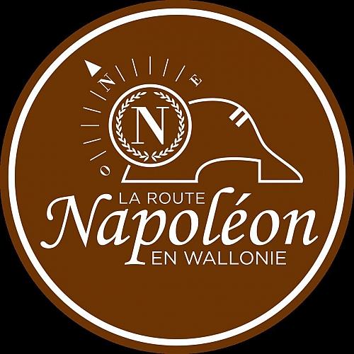 panneau routier route napoléon avec l'Aigle Impérial
